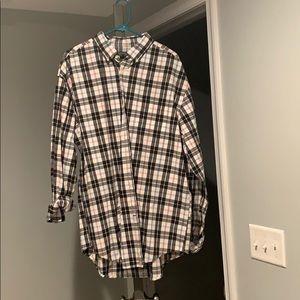 Checked man shirt